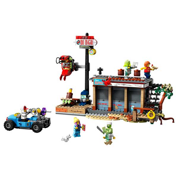 Ataque al Shrimp Shack Lego Hidden Side - Imatge 1