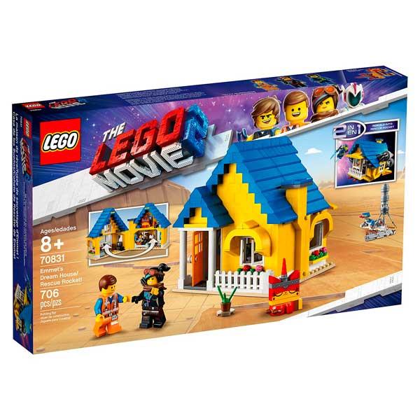 Casa dels Somnis i Coet de Rescat Lego Movie - Imatge 1
