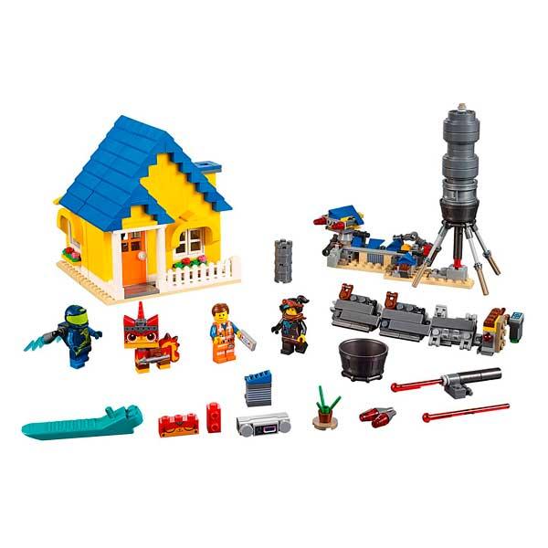 Casa de los Sueños y Cohete de Rescate Lego Movie - Imatge 1