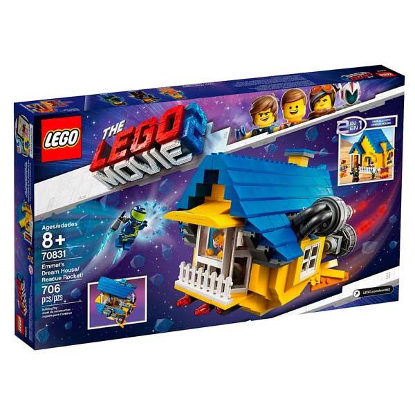 Casa de los Sueños y Cohete de Rescate Lego Movie - Imatge 2