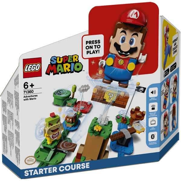 Lego Super Mario 71360 Pack Inicial: Aventuras con Mario - Imagen 1