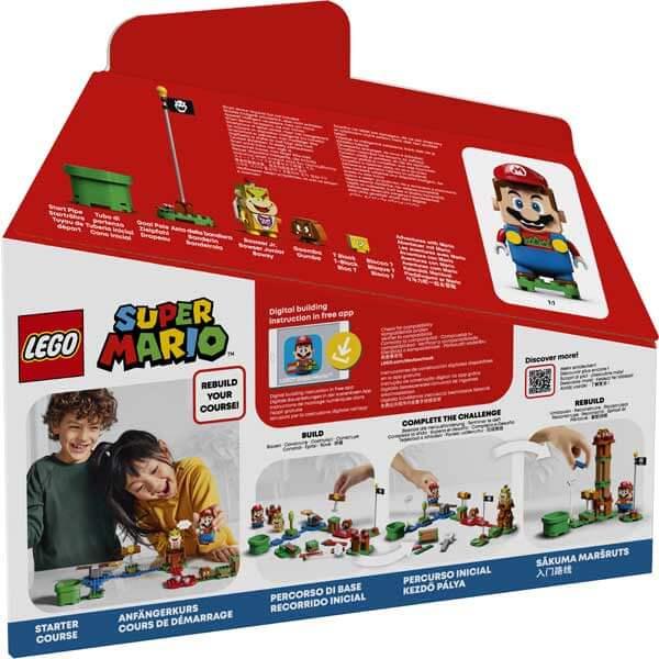 Lego Super Mario 71360 Pack Inicial: Aventuras con Mario - Imagen 2