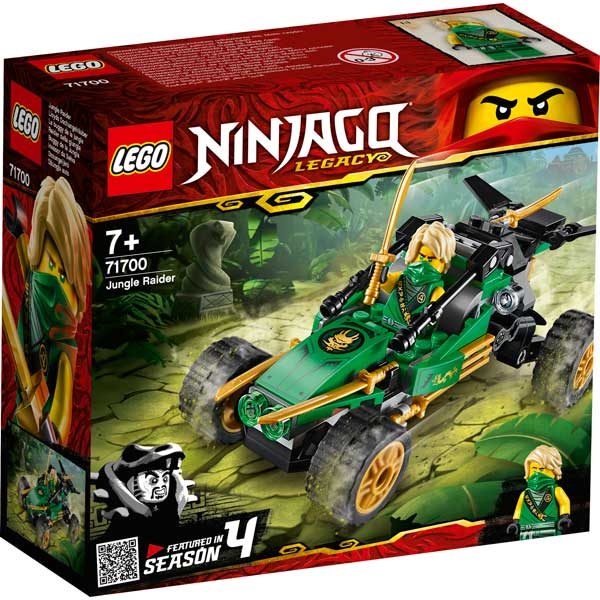 Lego Ninjago 71700 Buggy de la Jungla - Imagen 1