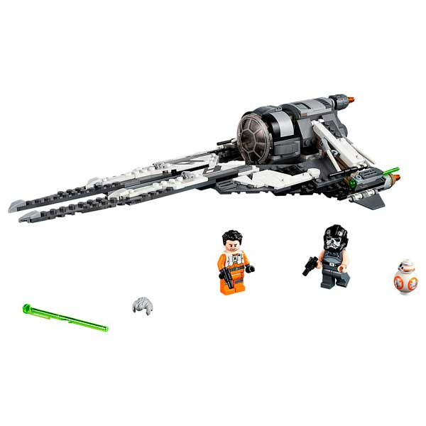 Interceptor TIE Black Ace Lego Star Wars - Imatge 1