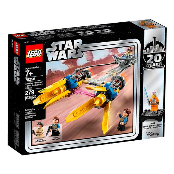 Beina de Carreres d'Anakin Lego Star Wars - Imatge 1