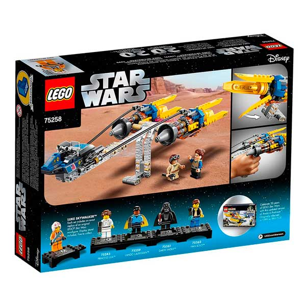 Lego Star Wars 75258 Vaina de Carreras de Anakin - Imatge 3