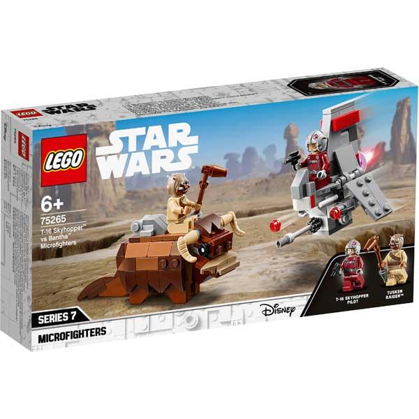 Lego Star Wars 75265 Saltacielos T-16 vs Bantha - Imagen 1