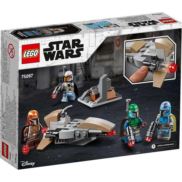 Lego Star Wars 75267 Pack de Combate: Mandalorianos - Imagen 1
