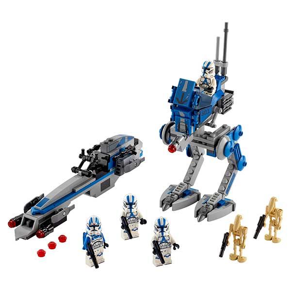 Lego Star Wars 75280 Soldados Clon de la Legión 501 - Imagen 2