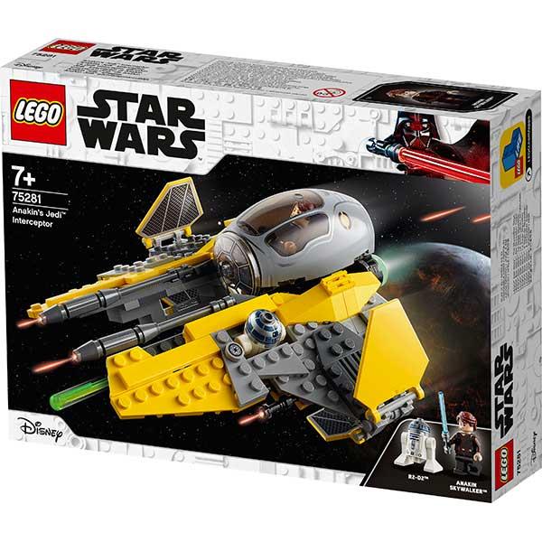 Lego Star Wars 75281 Interceptor Jedi de Anakin