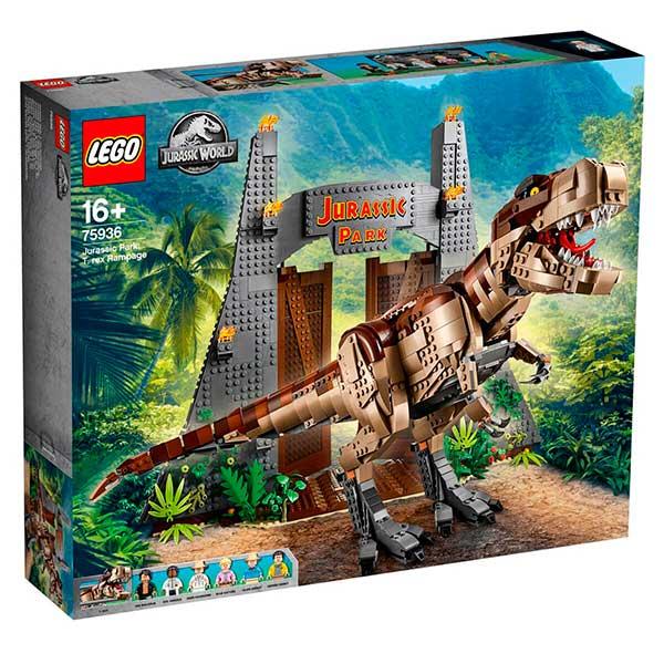 Lego Jurassic World 75936 Parque Jurásico: Caos del T. rex