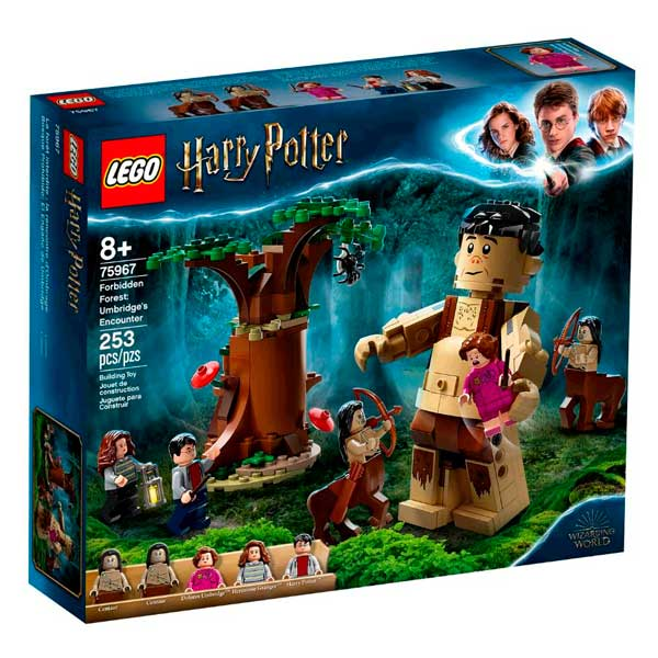 Lego Harry Potter 75967 A Floresta Proibida: O Encontro de Umbridge