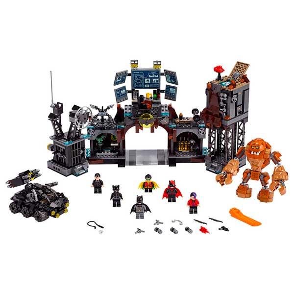 Lego DC Superheroes 76122 Irrupción de Clayface en la Batcueva - Imagen 1