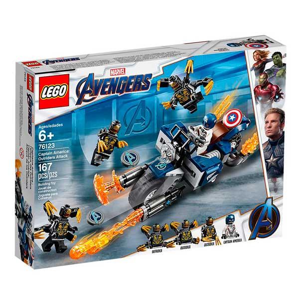 Capità Amèrica Atac Lego Marvel Avengers - Imatge 1