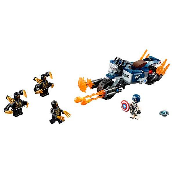 Lego Marvel 76123 Capitán América Ataque Avengers - Imatge 1