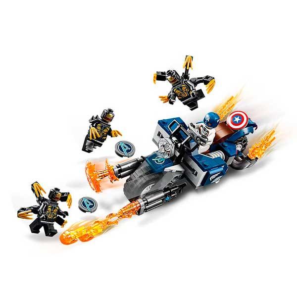 Lego Marvel 76123 Capitán América Ataque Avengers - Imatge 2