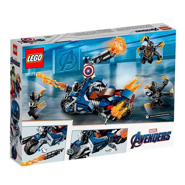 Lego Marvel 76123 Capitán América Ataque Avengers - Imatge 3