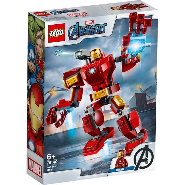 Lego Marvel 76140 Armadura Robótica de Iron Man - Imagen 1