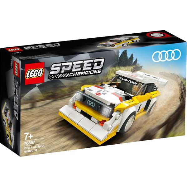 Audi Sport Quattro S1 1985 Lego Speed - Imatge 1