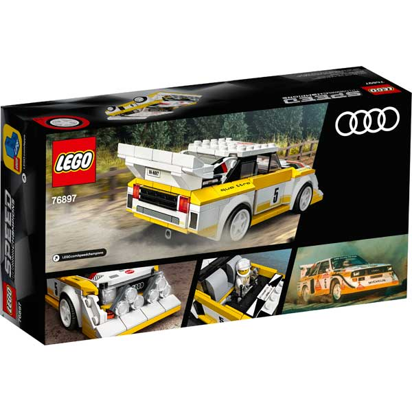 Lego Speed Champions 76897 Audi Sport Quattro S1 1985 - Imatge 1