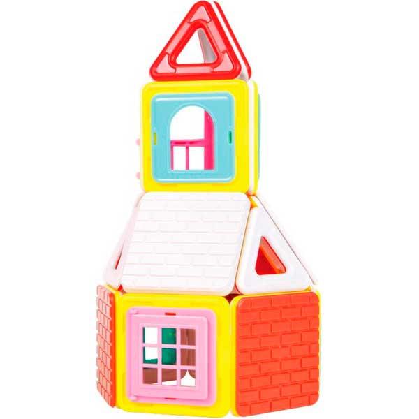 Build Up Set 50p Casas Magformers - Imatge 1