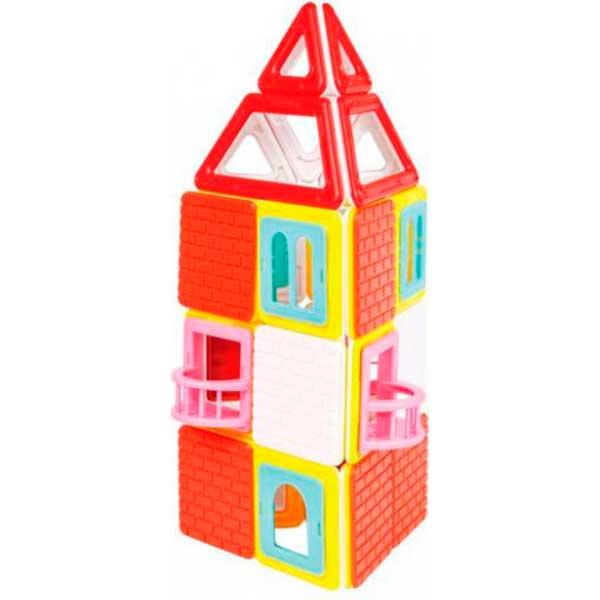 Build Up Set 50p Casas Magformers - Imatge 3