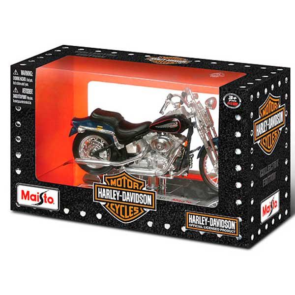 Moto a Escala Harley-Davidson 1:18 - Imagen 1