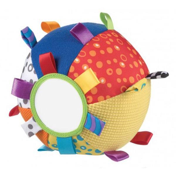 Pelota Suave de Colores y Texturas Playgro - Imagen 1