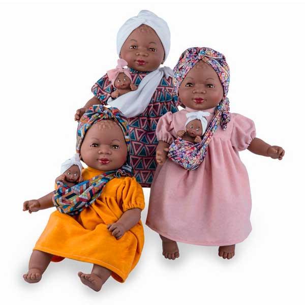 Muñeca Maria con Bebé Africana - Imagen 1
