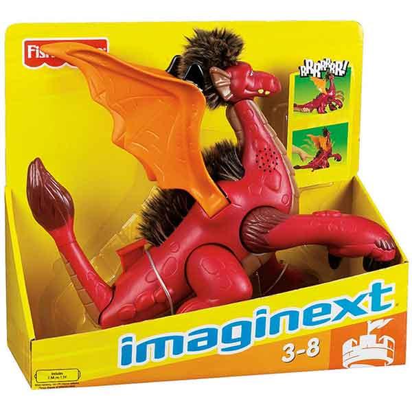 Imaginext Figura Imaginext Superdragón - Imagen 1