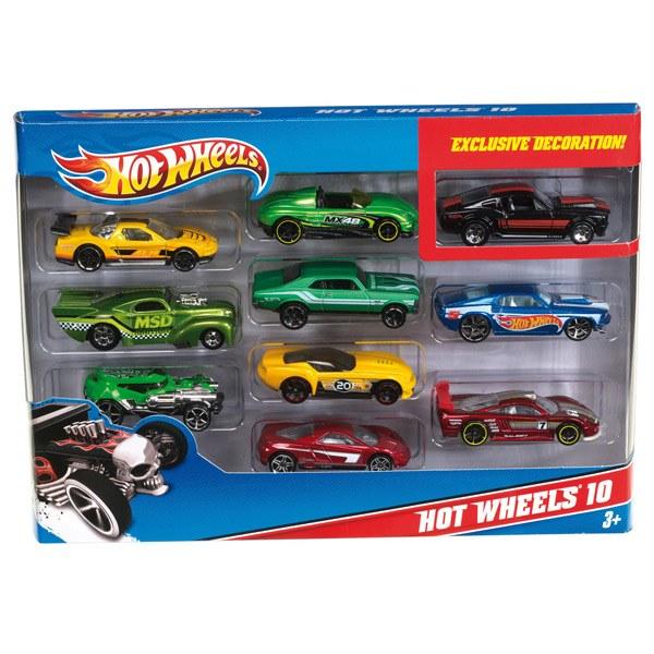 Coches Hot Wheels Pack de 10 Vehículos - Imagen 1