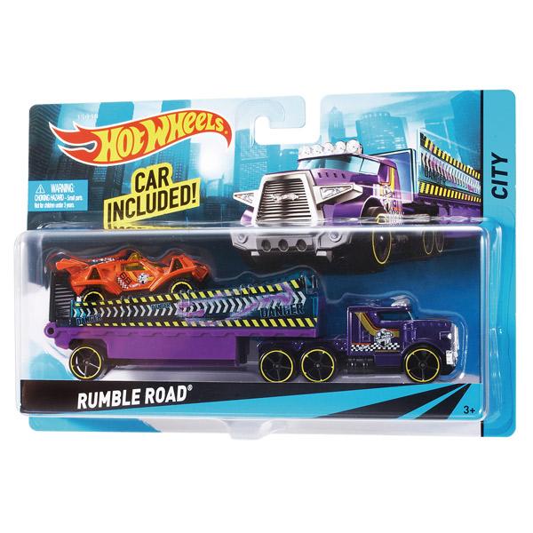 Hot Wheels Supercamion con Coche - Imagen 1