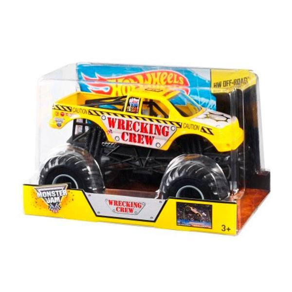 Hot Wheels Monster Jam Wrecking Crew 1:24