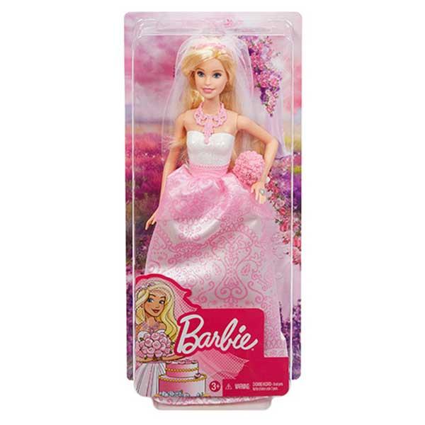 Muñeca Barbie Novia Real - Imagen 1