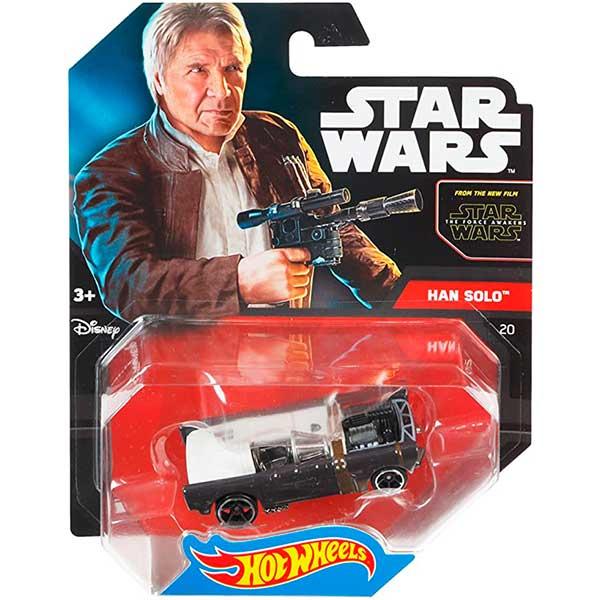 Hot Wheels Vehículo Star Wars Han Solo