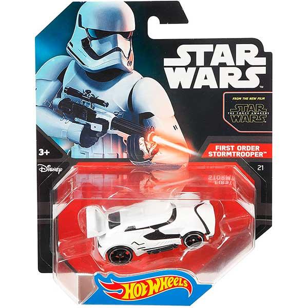 Hot Wheels Vehículo Star Wars Stormtrooper