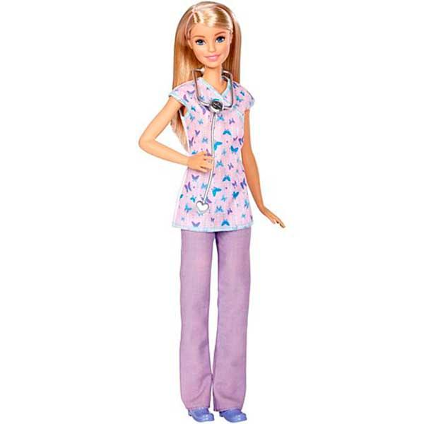 Muñeca Barbie Quiero Ser Enfermera - Imagen 1