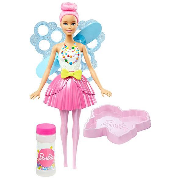 Muñeca Barbie Hada Burbujas Magicas - Imagen 1