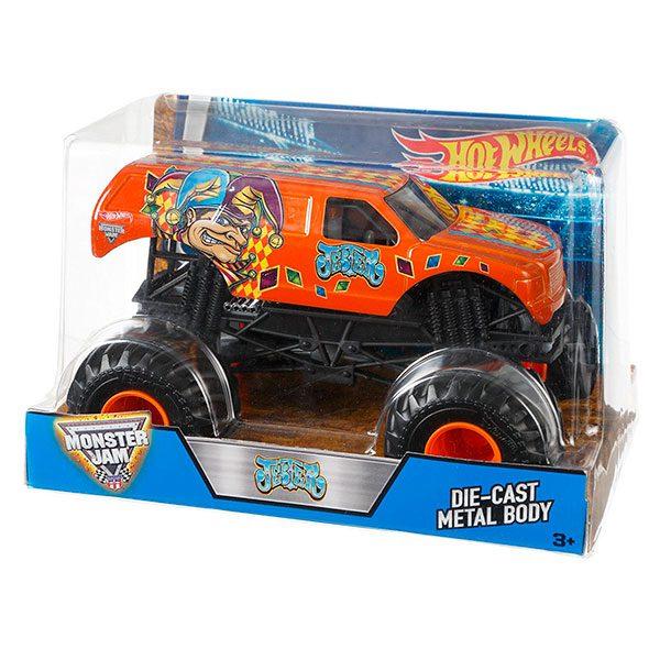 Hot Wheels Monster Jam Jester Green 1:24