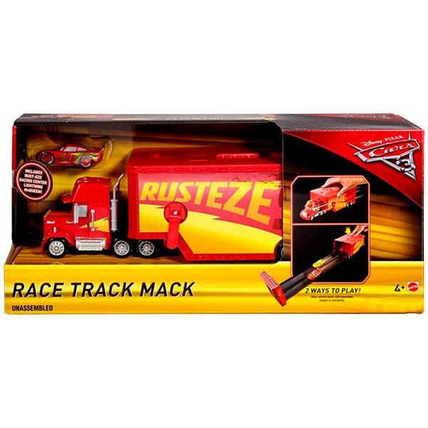 Cars Camión Mack Race Track con McQueen