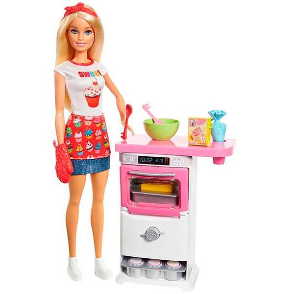 Muñeca Barbie y su Pastelería