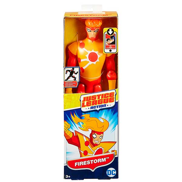 Liga de la justicia Figura Firestorm Titan 30cm - Imagen 1