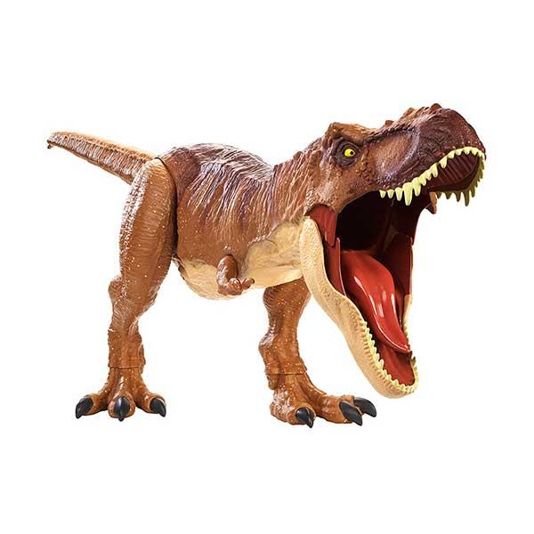 Jurassic World Figura Dinossauro Tyrannosaurus Rex Colosal 90cm