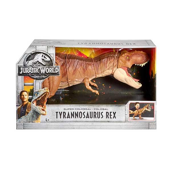 Jurassic World Figura Dinosaurio Tyrannosaurus Rex Colosal 90cm - Imagen 4