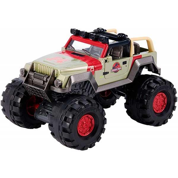 Vehiculo Jeep Wrangler 93 Jurassic World 1:24