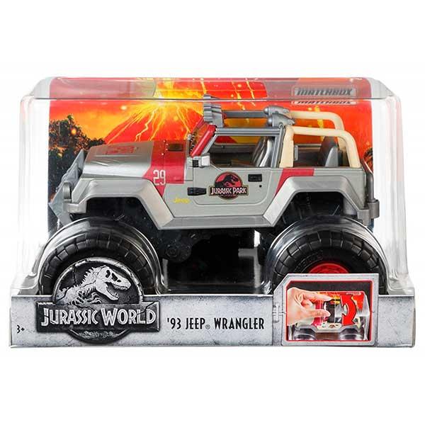 Vehiculo Jeep Wrangler 93 Jurassic World 1:24 - Imagen 2