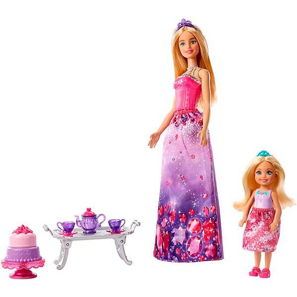 Barbie Muñeca Dreamtopia con Chelsea Hora del Té