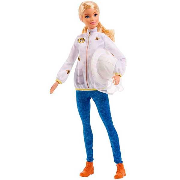Muñeca Barbie Quiero Ser Apicultora - Imagen 1