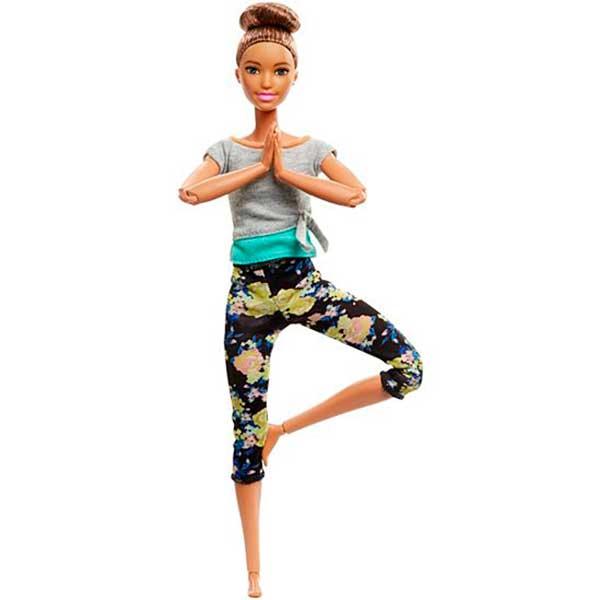 Muñeca Barbie Movimentos sin Limites con Moño Articulada - Imagen 1