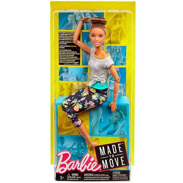 Muñeca Barbie Movimentos sin Limites con Moño Articulada - Imagen 3